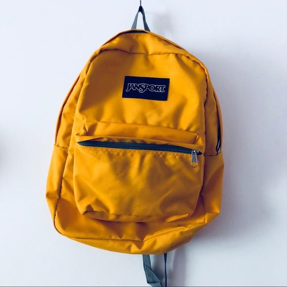 Jansport Mustard Yellow BackPack